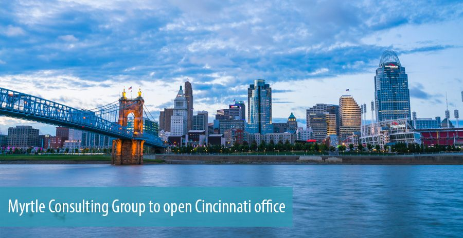 Myrtle Consulting Group to open Cincinnati office