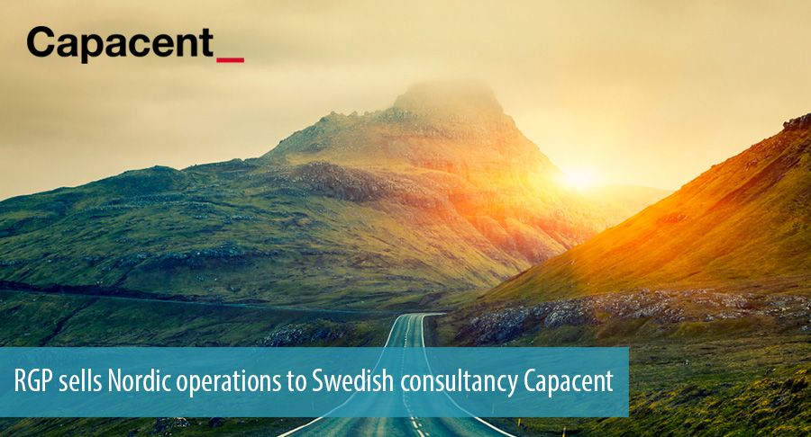 RGP sells Nordic operations to Swedish consultancy Capacent