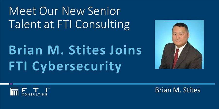 Brian Stites, managing director of FTI cybersecurity practice