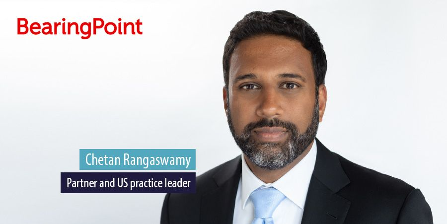 Chetan Rangaswamy, partner and US practice leader at BearingPoint