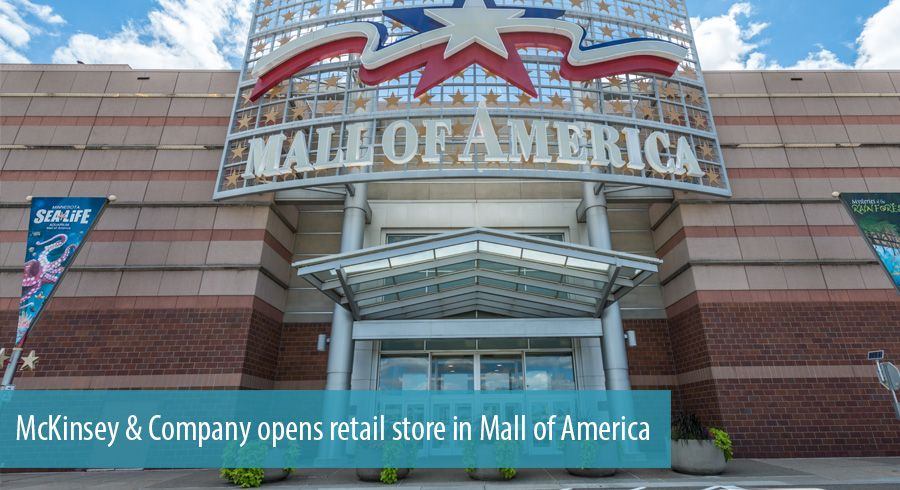 McKinsey & Company opens retail store in Mall of America