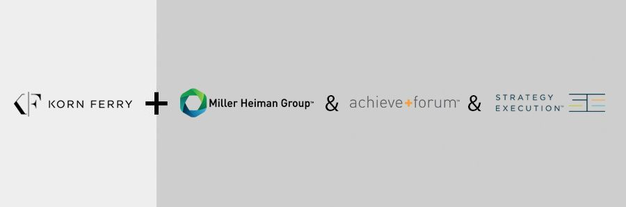 Korn Ferry acquires Miller Heiman Group, Achieve+forum and Strategy Execution