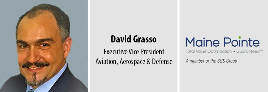 Maine Pointe adds aviation, aerospace & defense expert David Grasso