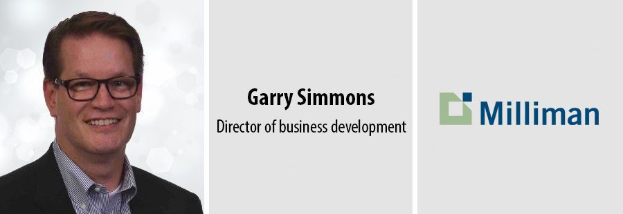 Garry Simmons, Director of business development at Milliman