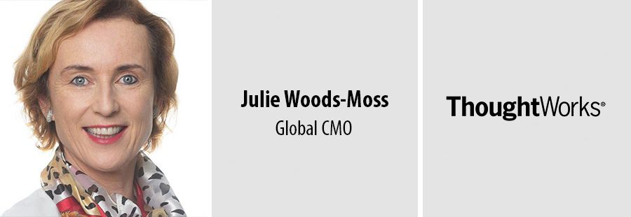 ThoughtWorks names Julie Woods-Moss global CMO