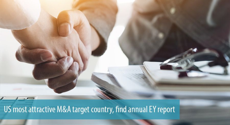 US most attractive M&A target country, find annual EY report