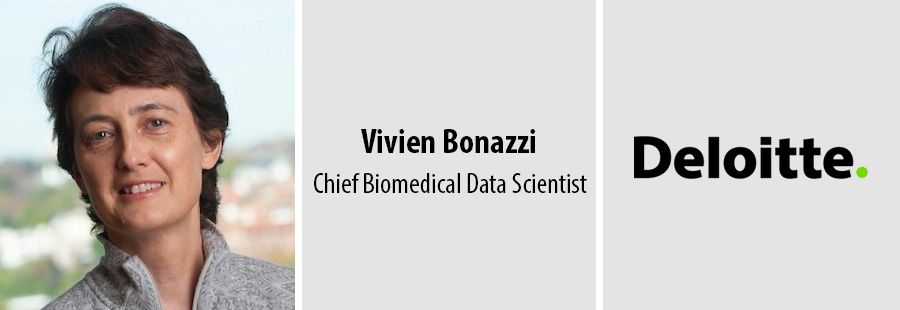 Vivien Bonazzi, Chief Biomedical Data Scientist at Deloitte