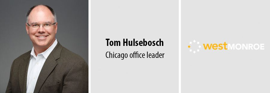 West Monroe appoints Tom Hulsebosch as Chicago head as office expands