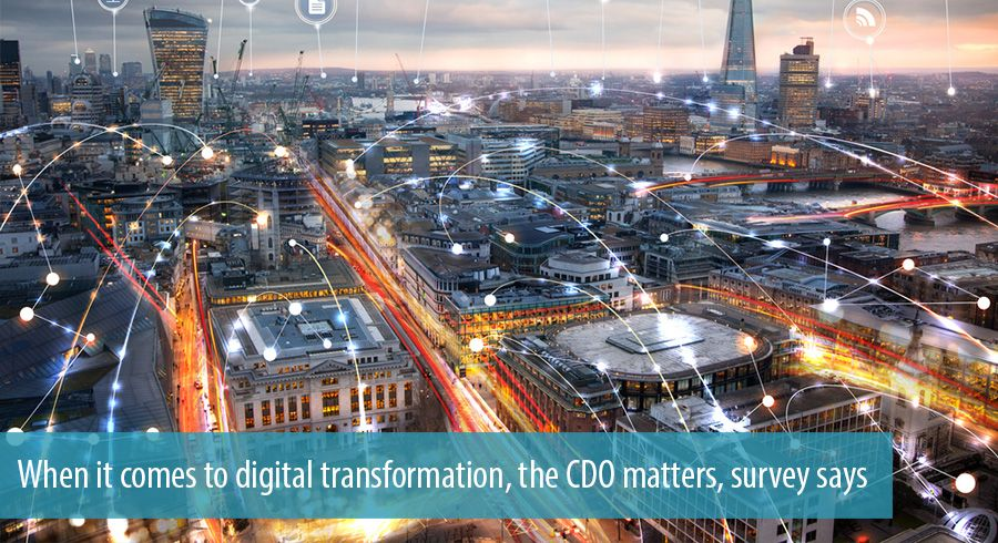 When it comes to digital transformation, the CDO matters, survey says