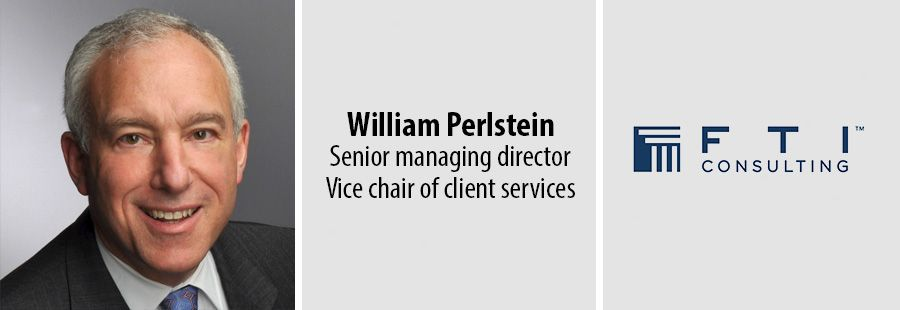 FTI names William Perlstein senior managing director, vice chair of client services