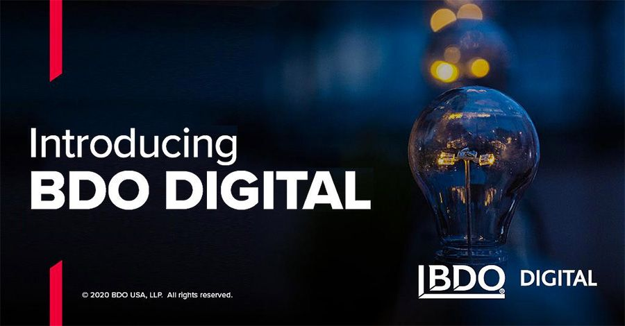 BDO launches BDO Digital advisory business catering to middle market