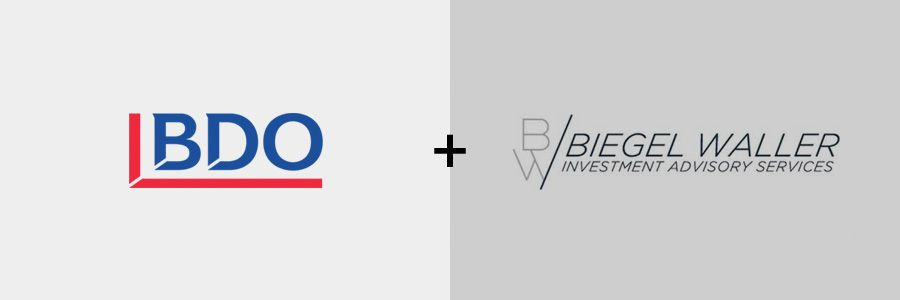 BDO acquires Biegel Waller Investment Advisory Services