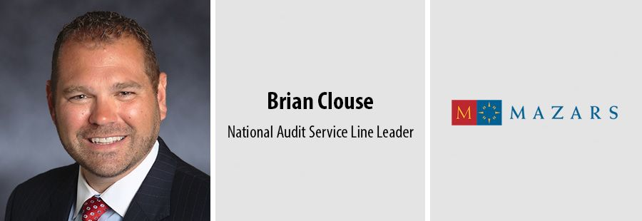Brian Clouse, National Audit Service Line Leader at Mazars