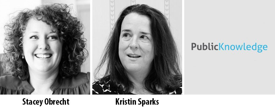 Stacey Obrecht and Kristin Sparks - Public Knowledge