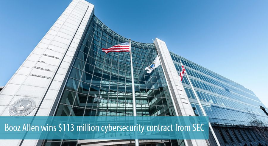 Booz Allen wins $113 million cybersecurity contract from SEC