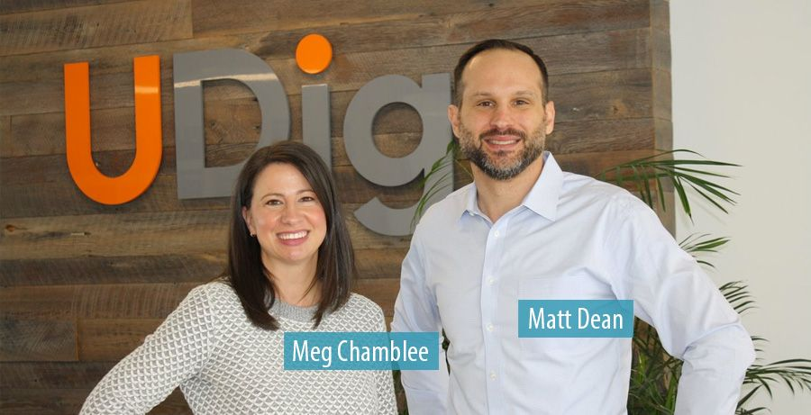 Meg Chamblee and Matt Dean - UDig
