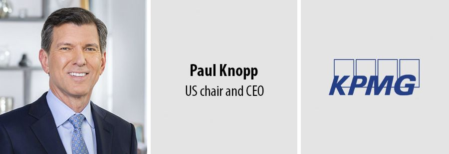 KPMG elects Paul Knopp as US chair and CEO