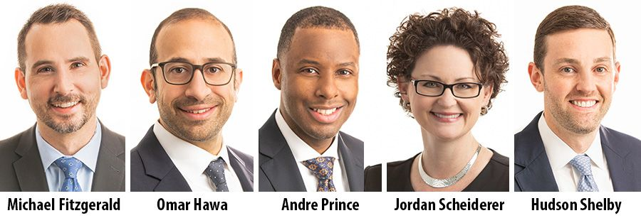 Michael Fitzgerald, Omar Hawa, Andre Prince, Jordan Scheiderer and Hudson Shelby - MorganFranklin Consulting