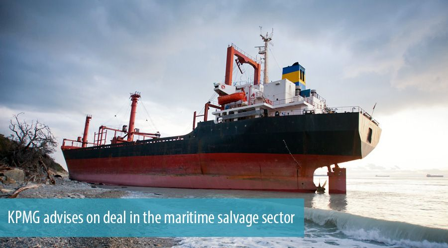 KPMG advises on deal in the maritime salvage sector