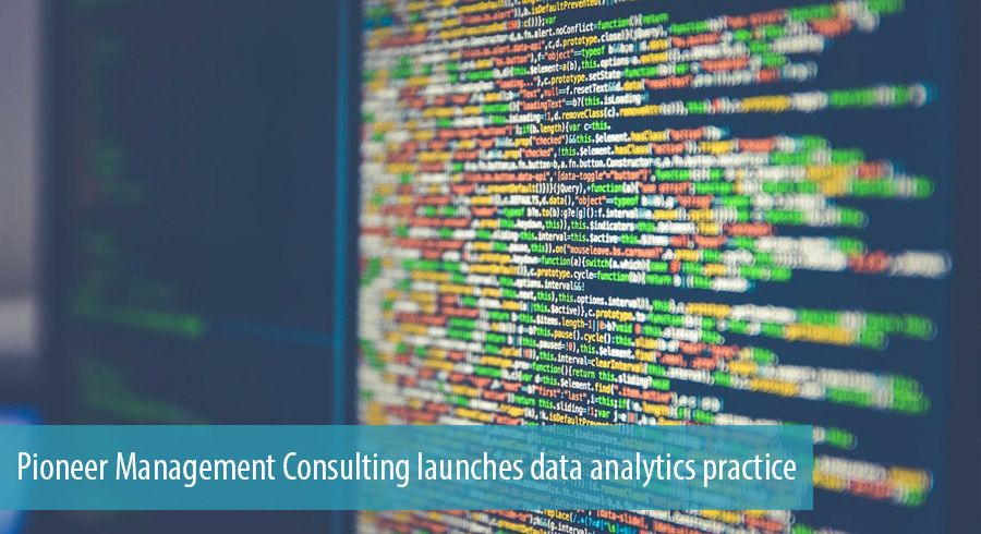 Pioneer Management Consulting launches data analytics practice