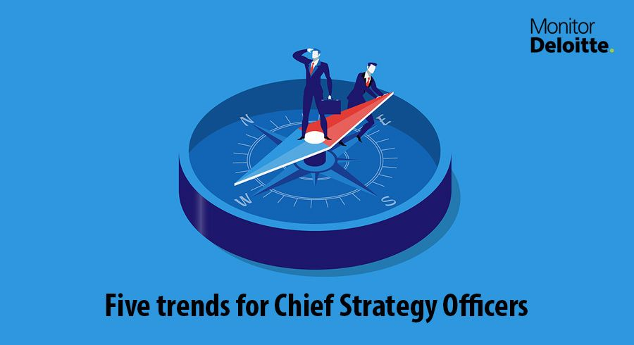Five trends for Chief Strategy Officers