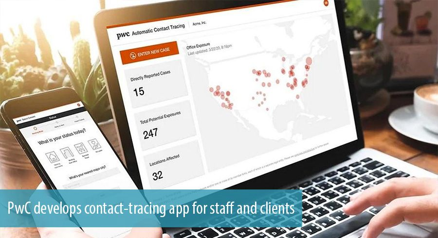 PwC develops contact-tracing app for staff and clients