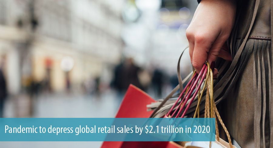 Pandemic to depress global retail sales by $2.1 trillion in 2020