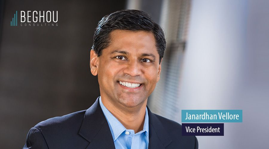 Janardhan Vellore, Vice President at Beghou Consulting