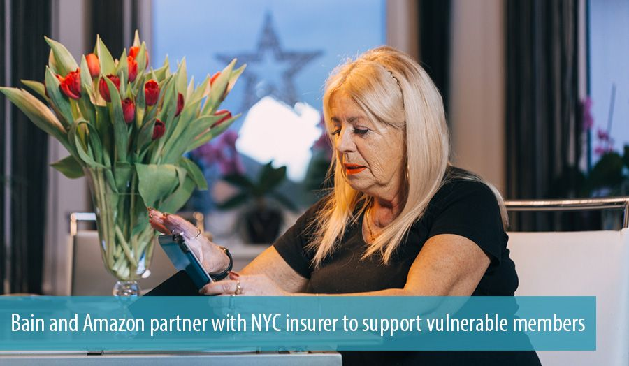 Bain and Amazon partner with NYC insurer to support vulnerable members