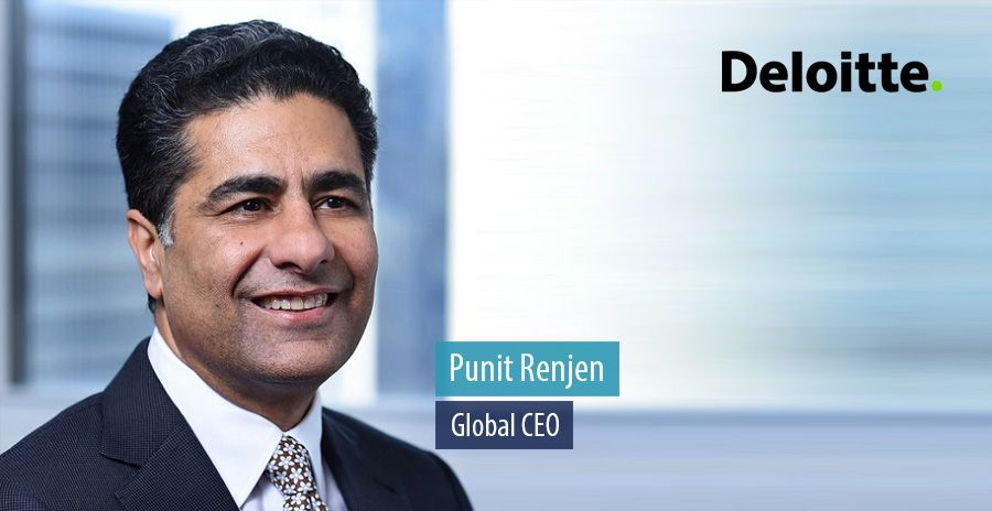 Deloitte CEO Punit Renjen