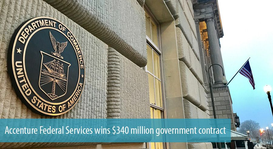 Accenture Federal Services wins $340 million government contract