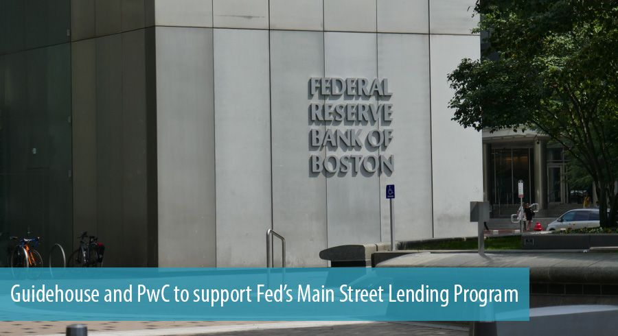 Guidehouse and PwC to support Fed's Main Street Lending Program
