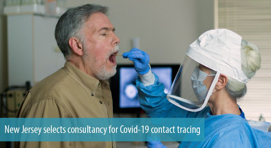 New Jersey selects consultancy for Covid-19 contact tracing