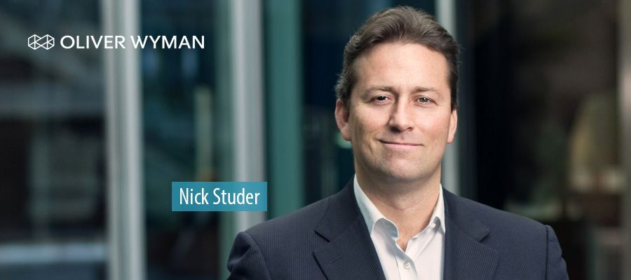 Oliver Wyman names Nick Studer head of management consulting business