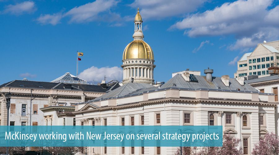 McKinsey working with New Jersey on several strategy projects