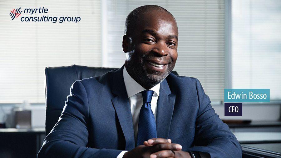 Edwin Bosso, CEO, Myrtle Consulting Group