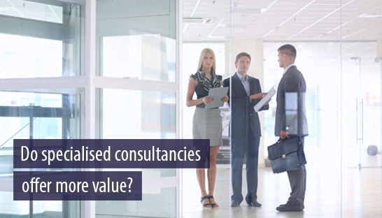 Cost-weary clients could look to specialized consultancies