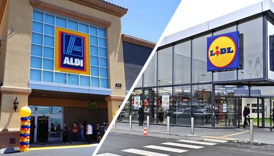 Lidl and Aldi expand supermarket clash to US