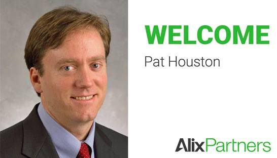 AlixPartners hires Pat Houston as Managing Director