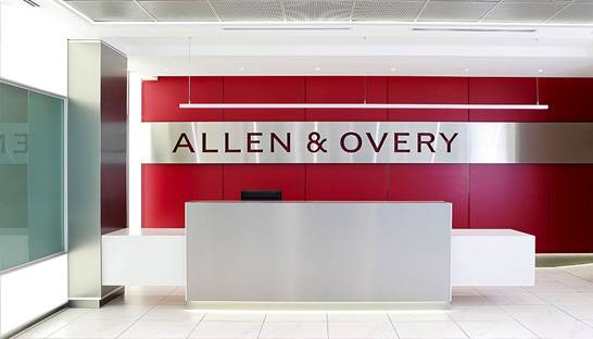 Law firm Allen & Overy expands into regulatory consulting business