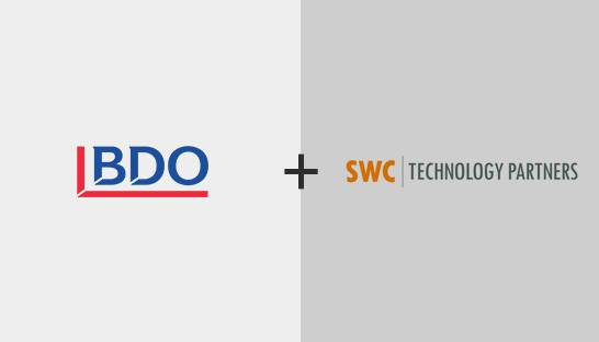 BDO USA acquires IT firm SWC Technology Partners