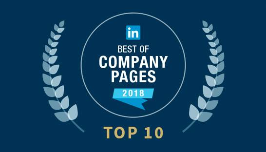 Deloitte and EY named among LinkedIn's Top 10 Company Pages