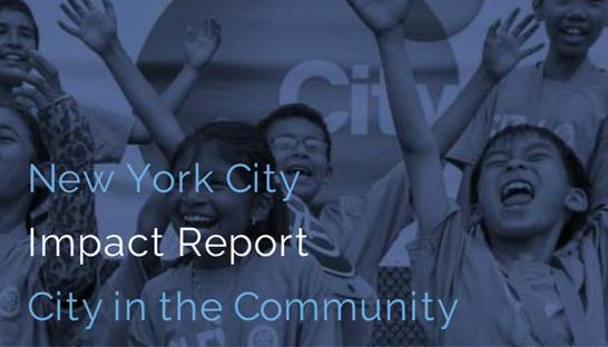 NYC Football Club's community initiative positively impacts young lives