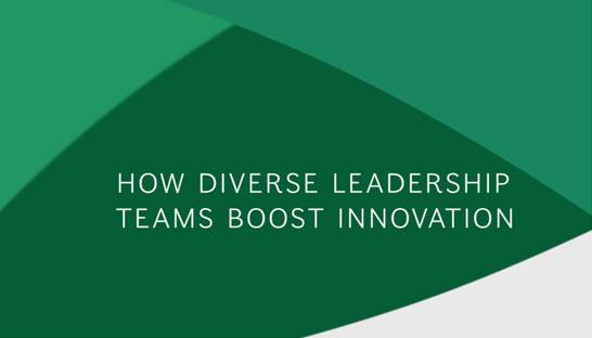 For US businesses, management diversity means financial, innovative success