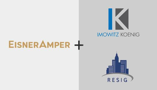 EisnerAmper acquires Imowitz Koenig and real estate advisory firm RESIG