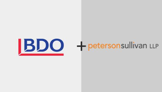 BDO USA acquires Seattle-based Peterson Sullivan LLP