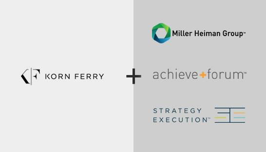 Korn Ferry acquires three leadership development companies