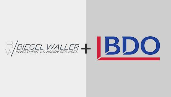 BDO acquires tax consultancy Biegel Waller