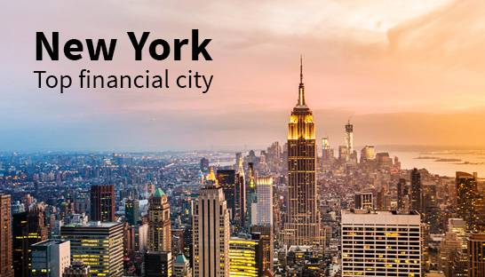 New York top financial city for second consecutive year