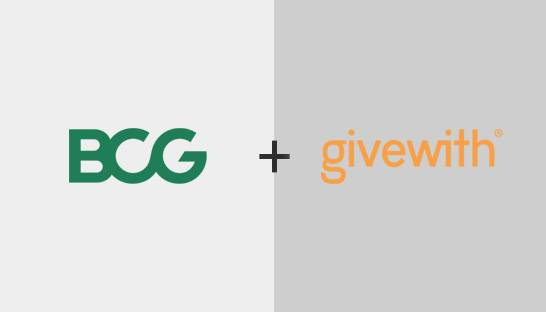 BCG partners with Givewith to generate social impact